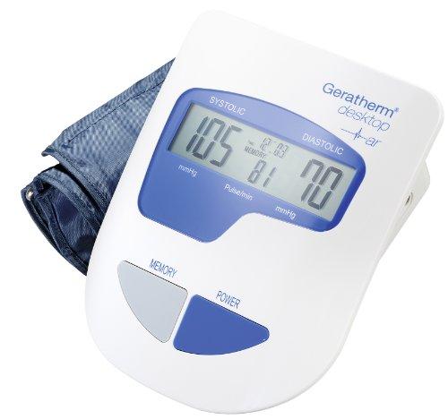 Geratherm desktop GP-6621 - Tensiómetro para brazo (totalmente automático, con manguito cómodo)