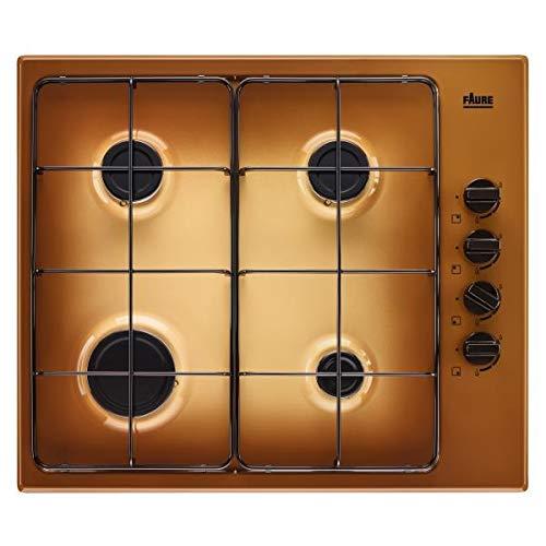 Plaque gaz Faure FGH62414TA - Plaque de cuisson 4 foyers