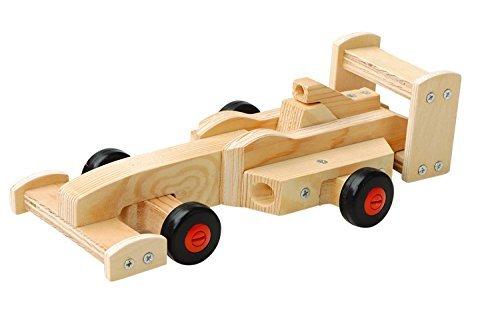 Red Toolbox - 5080270 - Kit De Menuiserie N1 - Voiture De Course À Faire Soi-même - 22,7 X 12,3 X 6,7 Cm