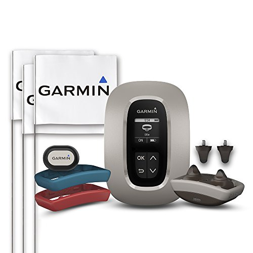 Garmin Delta Inbounds, Wireless Fence Dog Containment System, Covers up to 2 Acres, with Activity Tracking and Training