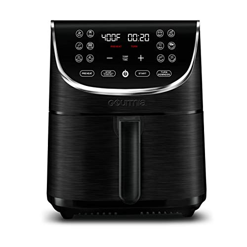 Gourmia FRY FORCE 360° Digital 7 Qt. Air Fryer with 12 One-Touch Cooking Presets
