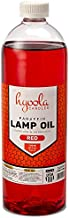 Hyoola Candles Liquid Paraffin Lamp Oil - Red Smokeless, Odorless, Ultra Clean Burning Fuel for Indoor and Outdoor Use - Highest Purity Available - 32oz