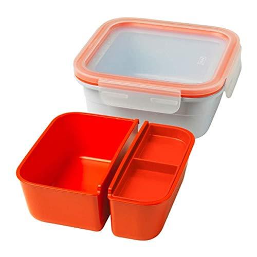 IKEA 365+ Lunchbox mit Behältern eckig 803.887.14 Größe 750 ml