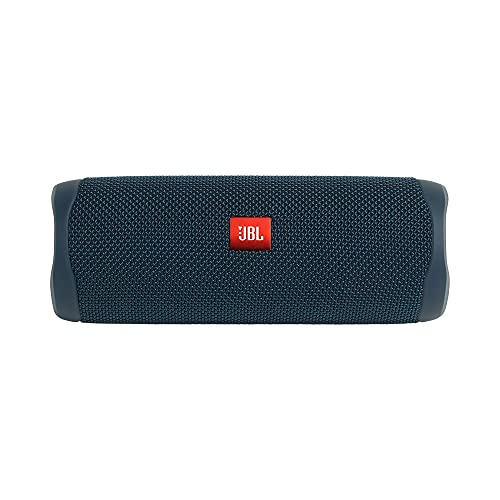 JBL FLIP 5, Waterproof Portable Bluetooth Speaker, Blue (New Model)