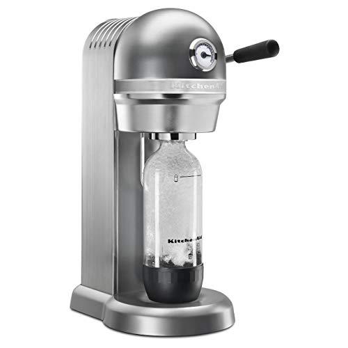 KitchenAid Rkss1121cu Sparkling machine à boissons, contour argenté (certifié reconditionné)