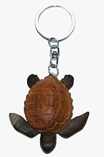 Schildkröte Meereschildkröte Karettschildkröte Schlüsselanhänger aus Holz