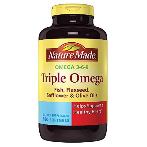 Nature Made Triple Omega 3-6-9 180 Softgels
