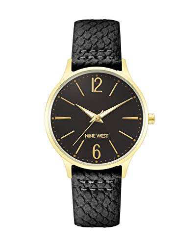 Nine West Dress Watch (Model: NW/2560BKBK)