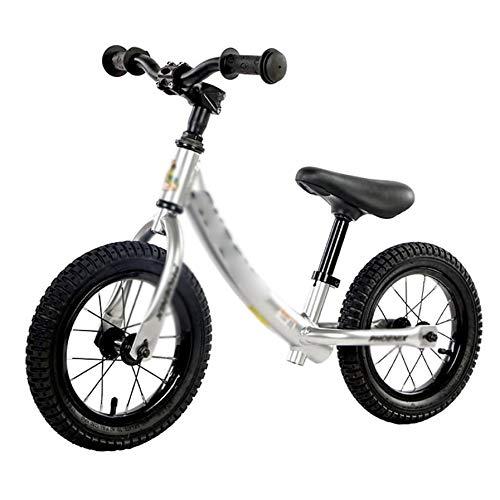 YWSZJ Bicicleta de Equilibrio Aleación de Aluminio Stryder Niños 2-6 años Babys Sin Pedal Bicicleta de Entrenamiento Deportivo (Color : B)