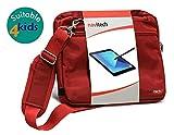 Navitech Rote Hülle/Hülle/Tasche Kompatibel Mit Der VTech Power Xtra Laptop