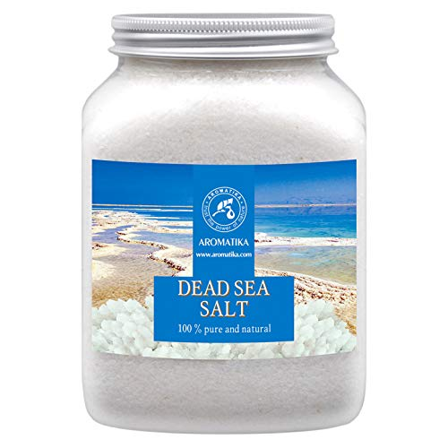 Totes Meer Salz 1000g - Therapie Reich & Mineralsalzen - Badesalz und Saunasalz 1kg für Guten Schlaf - Stressabbau - Baden - Besten für Guten Schlaf - Körperpflege - Entspannung - Badezusatz