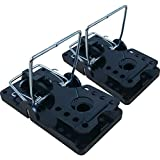 Roshield 2 x Rat Traps - Professional Heavy Duty Control Traps