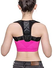 YOMYM Shoulder Straightener - Spinal Reserving Orthopedic Spine Antenna - Full Back Support Posture Corrector for Men and Women - Suitable for relieving back, chest, neck and shoulder pain-X larg