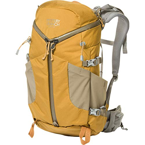 MYSTERY RANCH Coulee 25 Backpack - Daypack Built-in Hydration Sleeve, Pumpkin, LG/XL