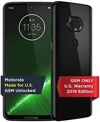Moto G7 Plus Unlocked Made for US by Motorola 4 64GB 16MP Camera 2019 Black product image