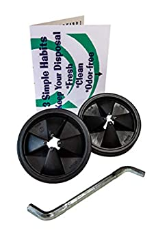 Insinkerator Garbage Disposal Replacement Parts Combo Packs  Baffle 2 Pack with Wrench Bundle