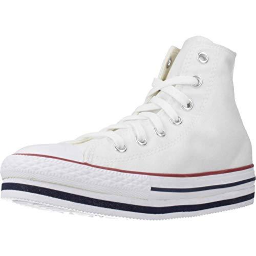 Zapatillas para ni�o, Color Blanco (White), Marca CONVERSE, Modelo Zapatillas para Ni�o CONVERSE Chuck Taylor All Star PLATF Blanco