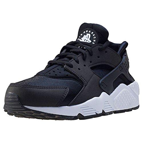 Nike Air Huarache, Women's Training Shoes, Black (Black/Black/White), 3 UK