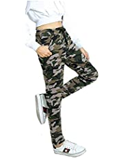 Trusha Dresses Women's Slim Fit Trackpants (ArmyPant_Green_Free Size)