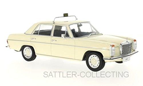 Mercedes 220 D/8 (W115), beige, Taxi, 1973, Modellauto, Fertigmodell, MCG 1:18