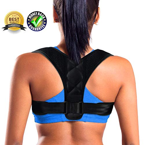 DAKIK Posture Corrector for Women & Men - Effective Comfortable Adjustable Posture Correct Brace -...