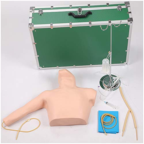LUCKFY Flotador venosa periférica punción intubación Modelo Centro del corazón Catéter de intubación Modelo Práctica ayudas a la formación para la Educación Médica