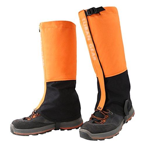 YiLianDa Impermeable Al Aire Libre Duradero Transpirable Polaina Legging De Nieve Doble Sellado Separable Tejido De FijacióN Cierre Para Ir De ExcursióN A Pie Escalada De Caza