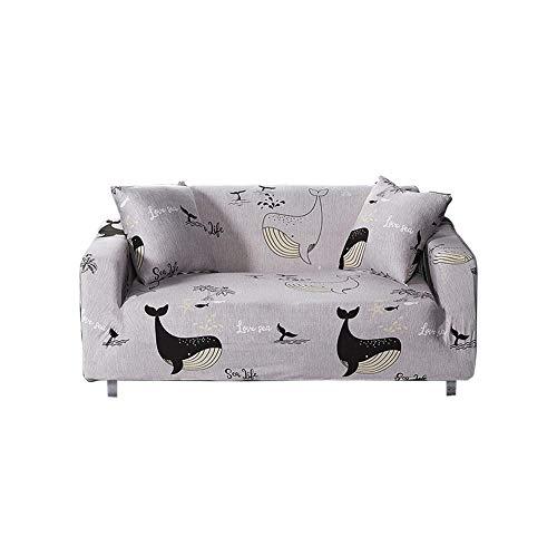 Eternitry Anti-Rutsch-Schaum und elastischer Boden Stretch Sofa Schonbezug Anti-Rutsch-Sofabezug Waschbarer Möbelschutz für Kinder, Haustiere Incredible advancement