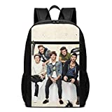One-Direction Laptop Backpack School Daypack Travel Bag for Adult, Teen-17'
