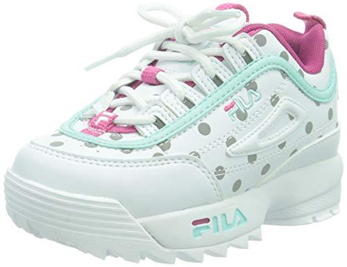 FILA Disruptor F Infants, Sneaker, Reflective Dots, 25 EU