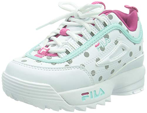 FILA Disruptor F Infants, Sneaker, Reflective Dots, 26 EU