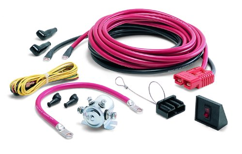 WARN 32966 Quick Connect Winch Power Cable, 24' Length