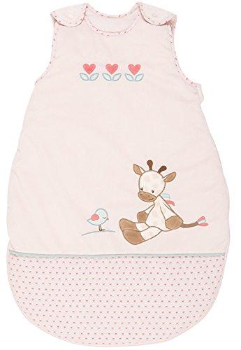 Nattou Schlafsack Baby ganzjährig Mädchen, 70 cm, rosa - Charlotte und Rose