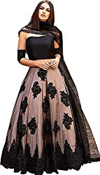 Suppar Sleave womens Embroidered multi colour Semi Stitched lehengas, lehenga choli