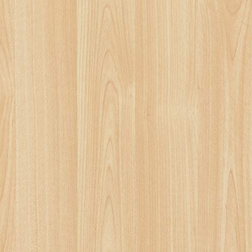 d-c-fix 346-0219 Decorative Self-Adhesive Film, Maple Wood, 17' x 78' Roll