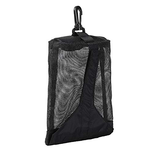 Redsa Small Mesh Scuba Diving Bag, Travel Dive Bag for Scuba or Snorkeling with Snap Clip Velcro Fastening for Top Snorkel, Trek Fins Storage Collection Bag