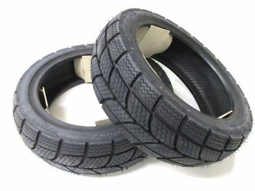 Roller Winter Reifen Satz K701 130/60-13 + 140/60-13 M+S für Yamaha Aerox, MBK Nitro Ganzjahresreifen Allwetterreifen