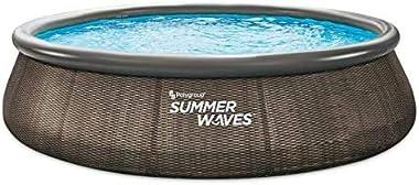 "Summer Waves 14' x 36"" Quick Set Pool"