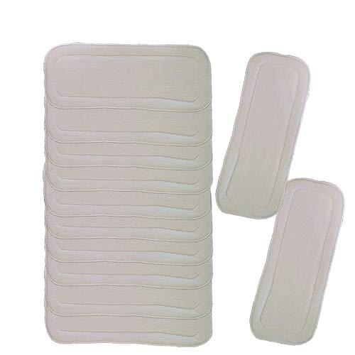kit 8 absorventes faixa de fralda ecológica