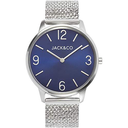 orologio solo tempo uomo Jack&co Riccardo trendy cod. JW0184M3