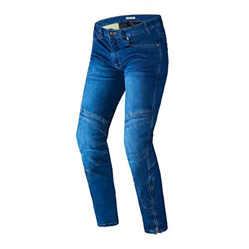 REBELHORN Rage Motorrad Slim Fit Jeans Hose für Männer Langlebige Materialien Knie- und Hüftprotektoren Kevlar Dupont Panels 4 Außentaschen