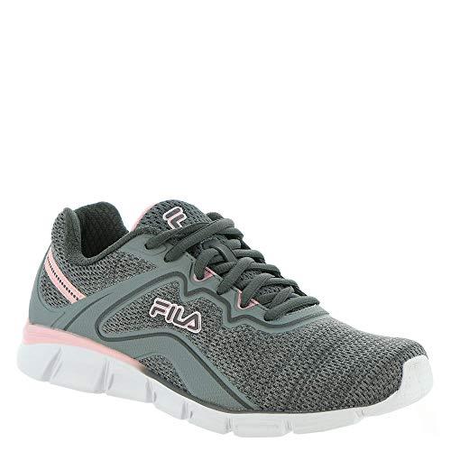 Fila Memory Vernato 5 Women's Running 7 B(M) US Grey-Grey-Blush
