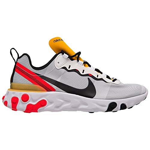 Nike React Element 55 Mens BQ6166-102 Size 10 White