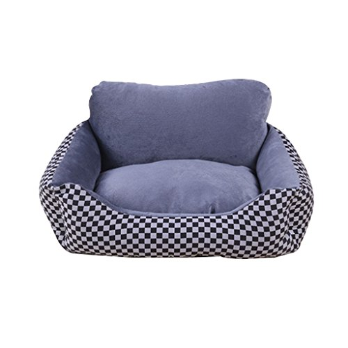 DS Haustier-Matte Small Medium and Large Hund Vier Jahreszeiten Pet Wolves Hund Haus Cat Litter Pet Bed Zwinger Abnehmbar Und Waschbar Hundematte Herbst Und Winter Hundebett Pet Supplies Ruhematte