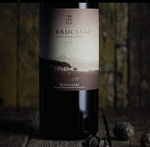 Rotwein aus der Toskana - Il Bruciato Bolgheri DOC - Tenuta Guado al Tasso - Weingut Marchesi Antinori 12 x 0,375 l.