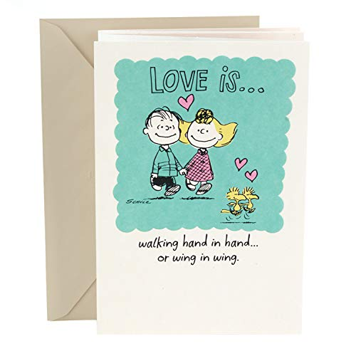Hallmark Anniversary Card (Peanuts Vignette) Photo #1