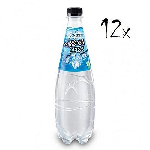 12x San Benedetto Gassosa zero PET Flasche ohne zucker 75cl softdrink ohne Zucker