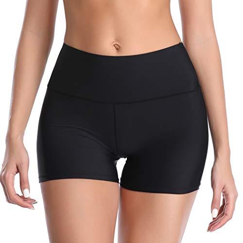 Joyshaper Unter Rock Kurz Hose Damen Miederhose Miederslip Miederpants Yoga Shorts Nahtlose Boyshort Panty Unterw?sche Weich Elastisch Leicht (Schwarz, S)