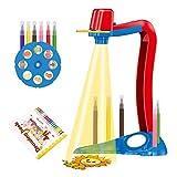 LOVOICE Trace and Draw - Proiettore giocattolo per bambini per disegnare il tavolo dei progetti Smart Projector Light Fun Proiettore giocattolo per disegno
