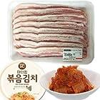 豚バラ肉「サムギョプサル」 1kg +簡単な缶炒めキムチ160g×1個 ■韓国食品■韓国食材■お肉 ■豚肉■三段バラ■サムギョッサル■